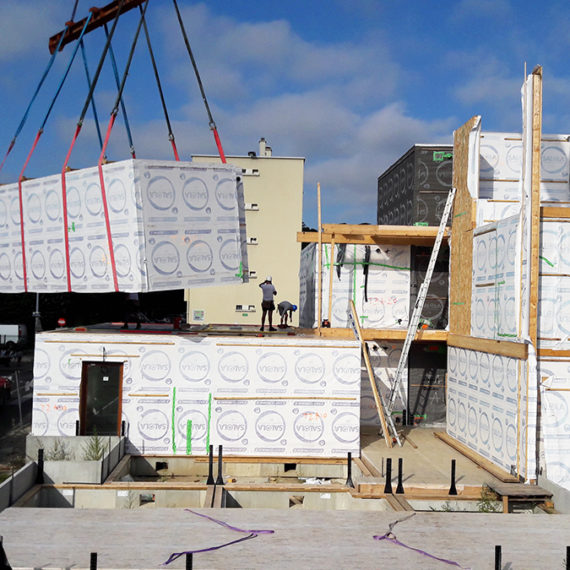 livraison modules pandora construction modulaire
